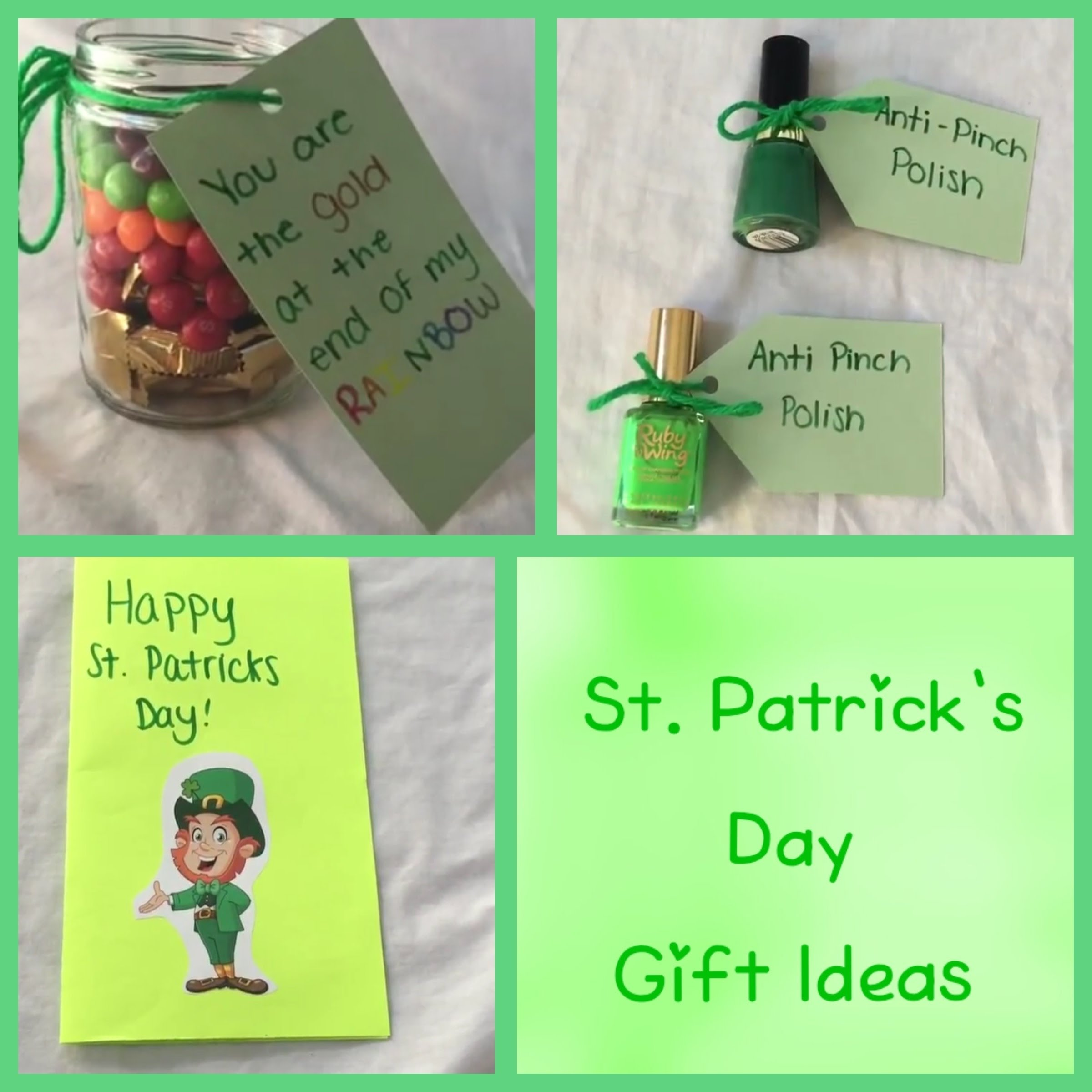 diy st. patrick's day gift ideas! quick and easy - youtube