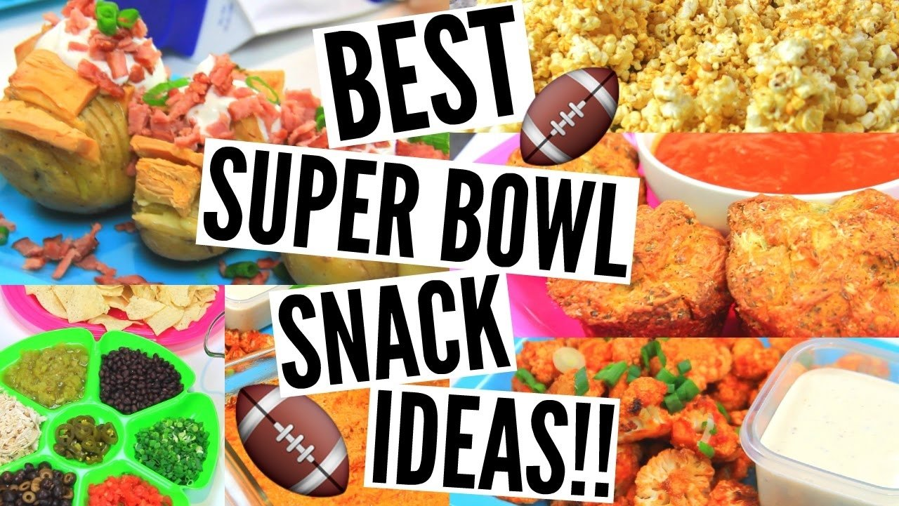 10 Pretty Super Bowl Party Snack Ideas diy super bowl party snacks quick easy affordable snack ideas 2