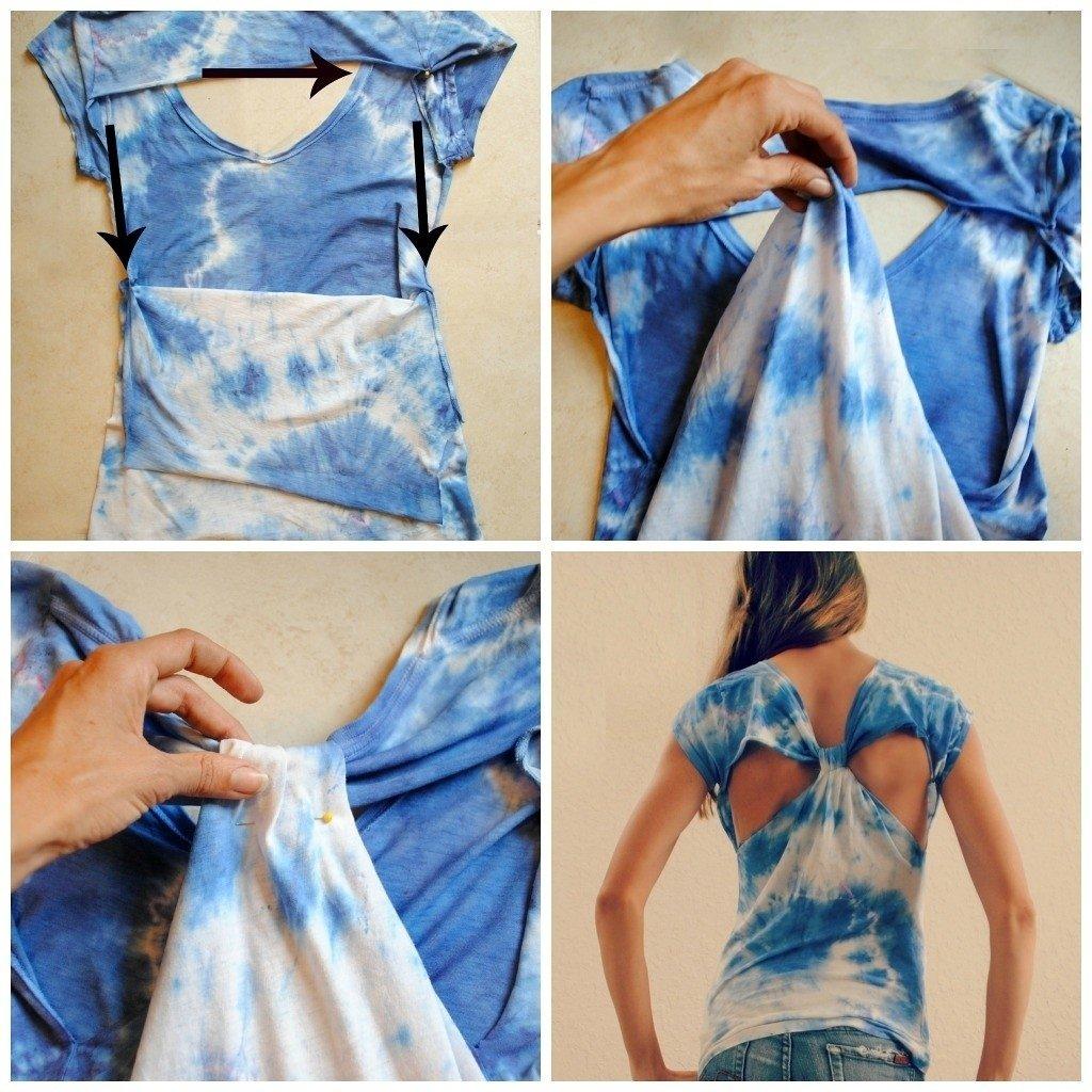 10 Lovely Ideas For Cutting T Shirts diy t shirt ideas 3d fashion pinterest clothes diy clothes 2020