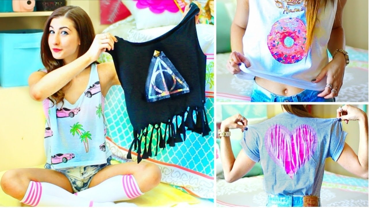 diy t-shirt ideas inspiredtumblr | easy & cute tumblr shirts