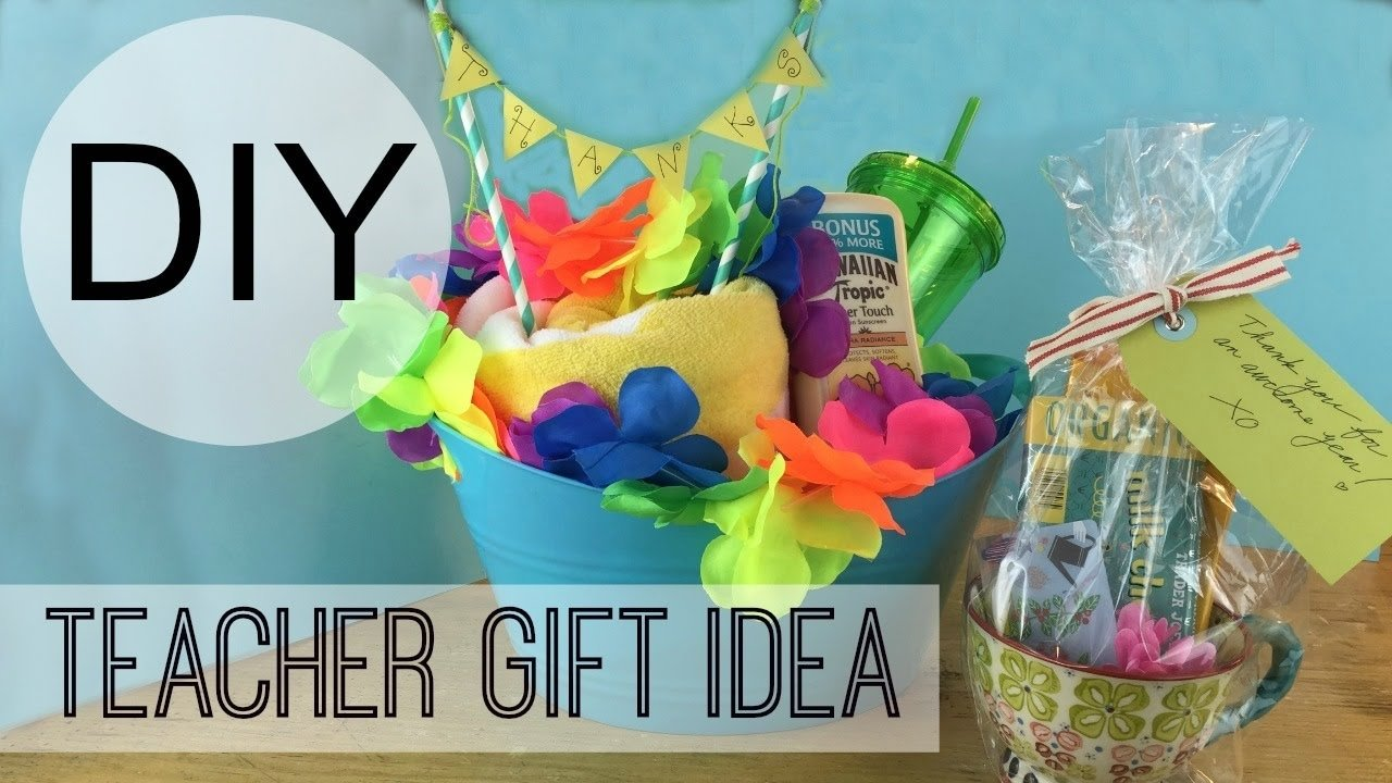 10 Pretty Homemade Gift Ideas For Teachers diy teacher gift ideas michele baratta youtube 2020