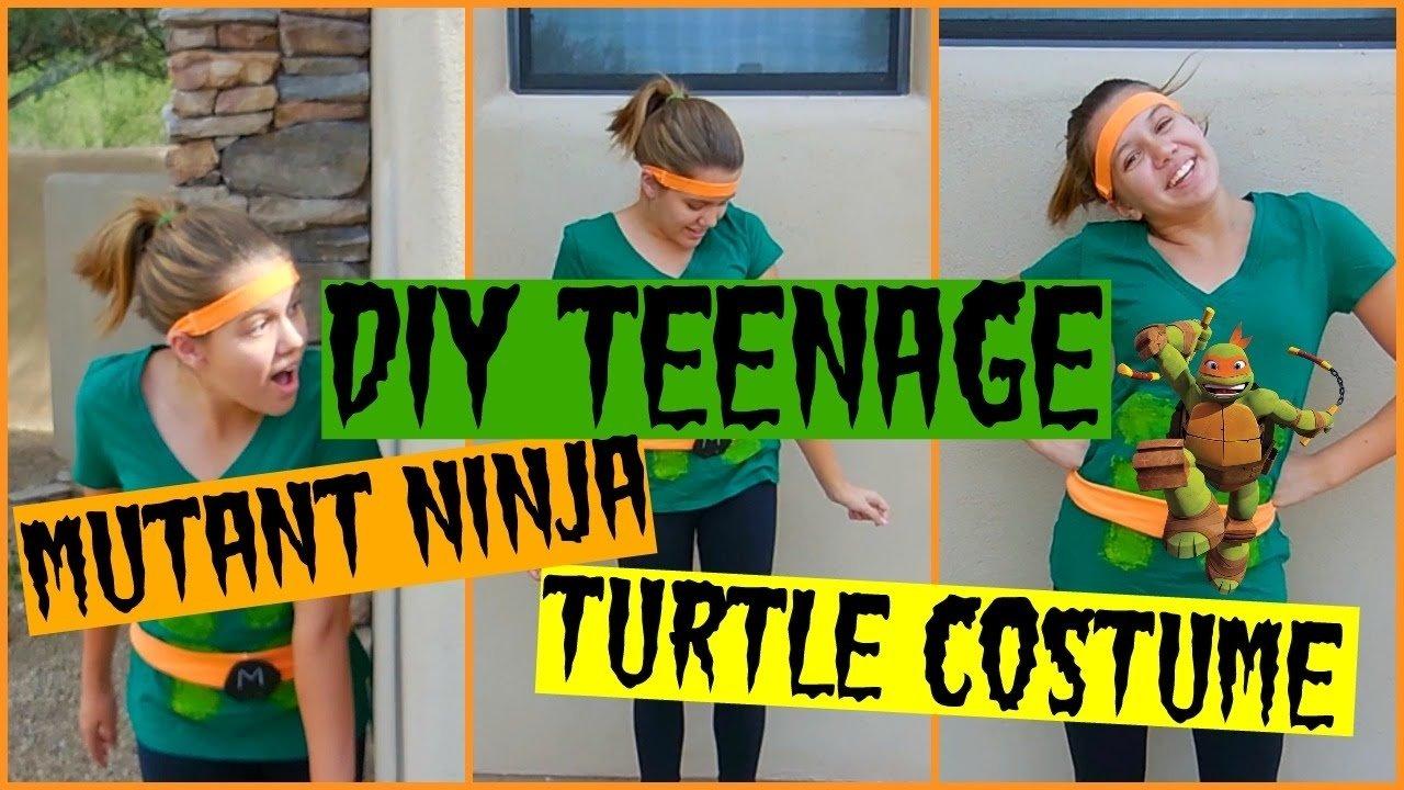 10 Unique Teenage Mutant Ninja Turtles Costume Ideas diy teenage mutant ninja turtle costume youtube 2021