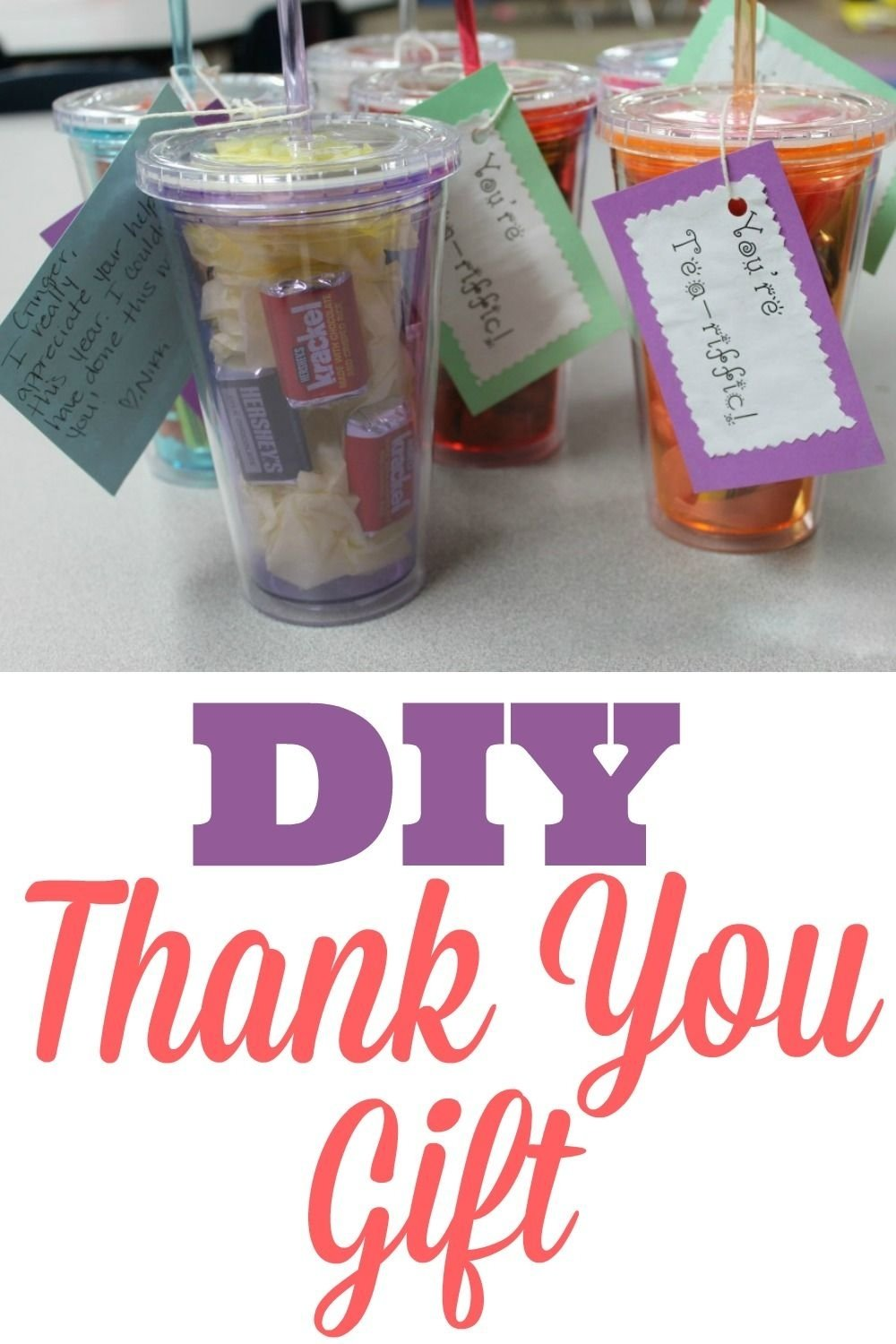 10 Awesome Diy Thank You Gift Ideas diy thank you gift for classroom volunteers classroom volunteer 1