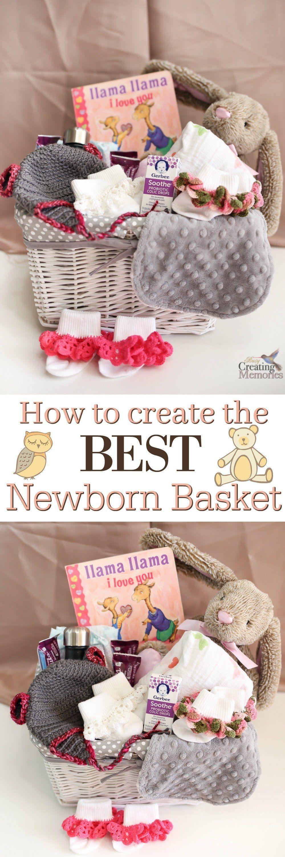 10 Unique New Born Baby Gift Ideas diy the best newborn gift basket kids baby baby girl gift 1