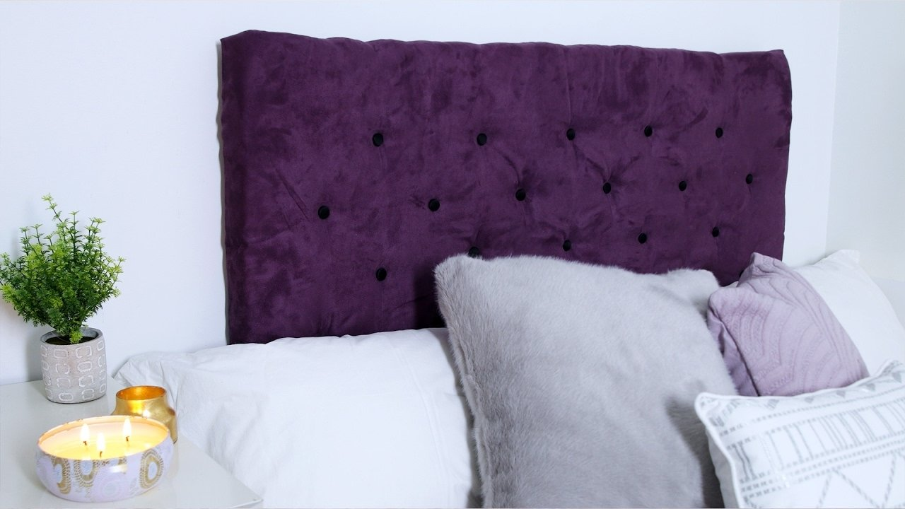 10 Attractive Do It Yourself Headboard Ideas diy tufted headboard youtube 2021