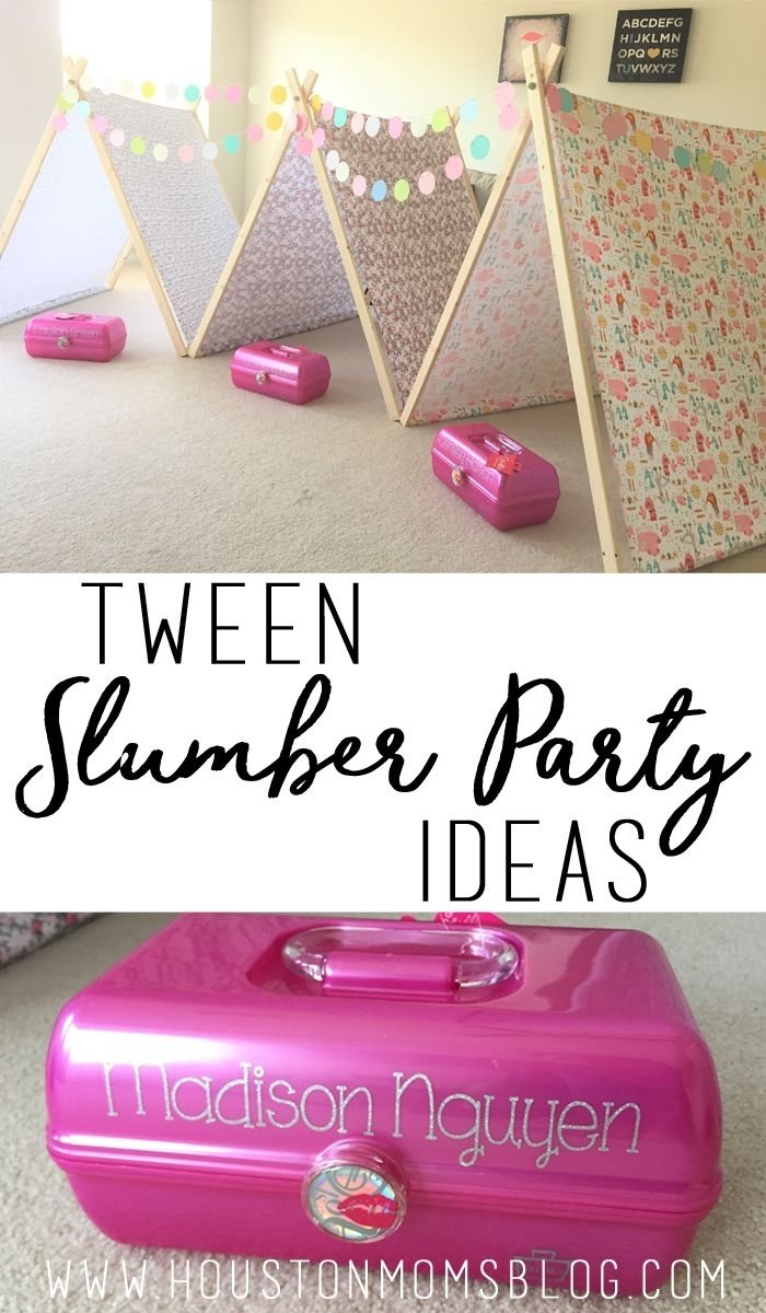 10 Most Popular Slumber Party Ideas For Tweens diy tween slumber party ideas slumber parties tween and 13th