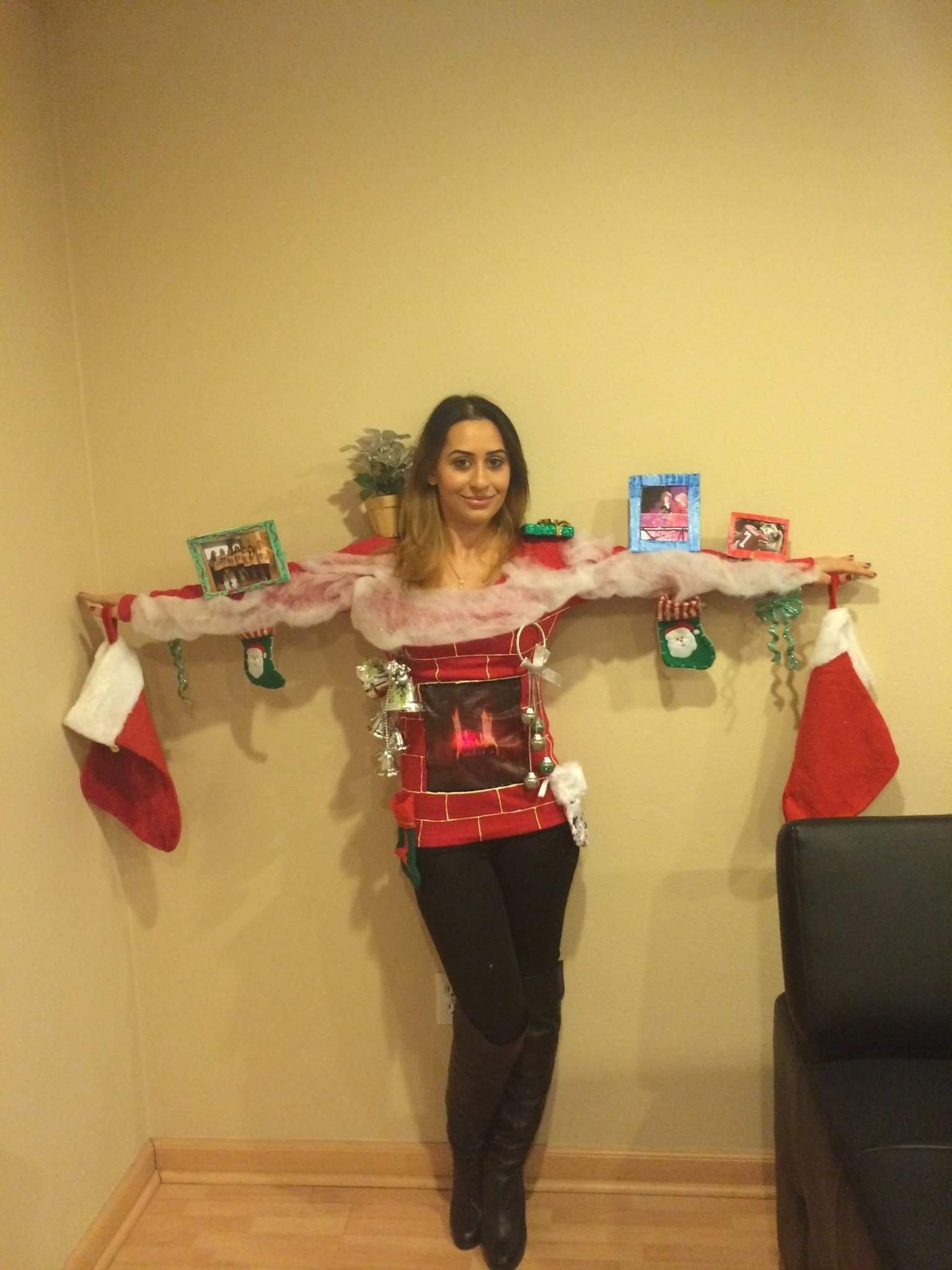 10 Stylish Ugly Christmas Sweaters Ideas Homemade diy ugly christmas sweaters sweater ideas idolza 1 2021