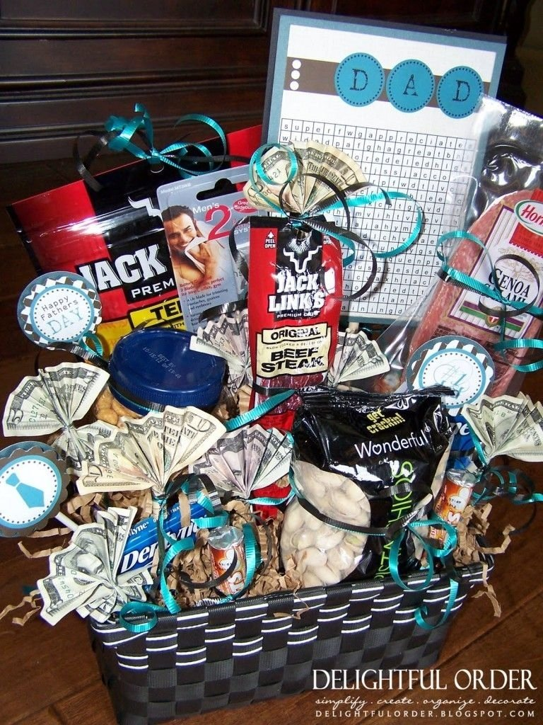 10 Cute Gift Baskets For Men Ideas diy valentines day gift baskets for him just tweak it a little and 1 2020