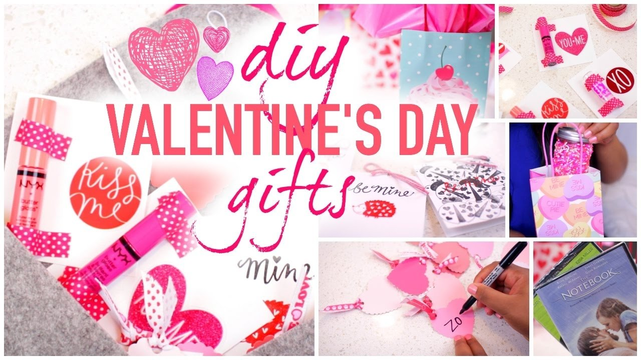 diy valentine's day gift ideas! very cheap,fast & cute! - youtube
