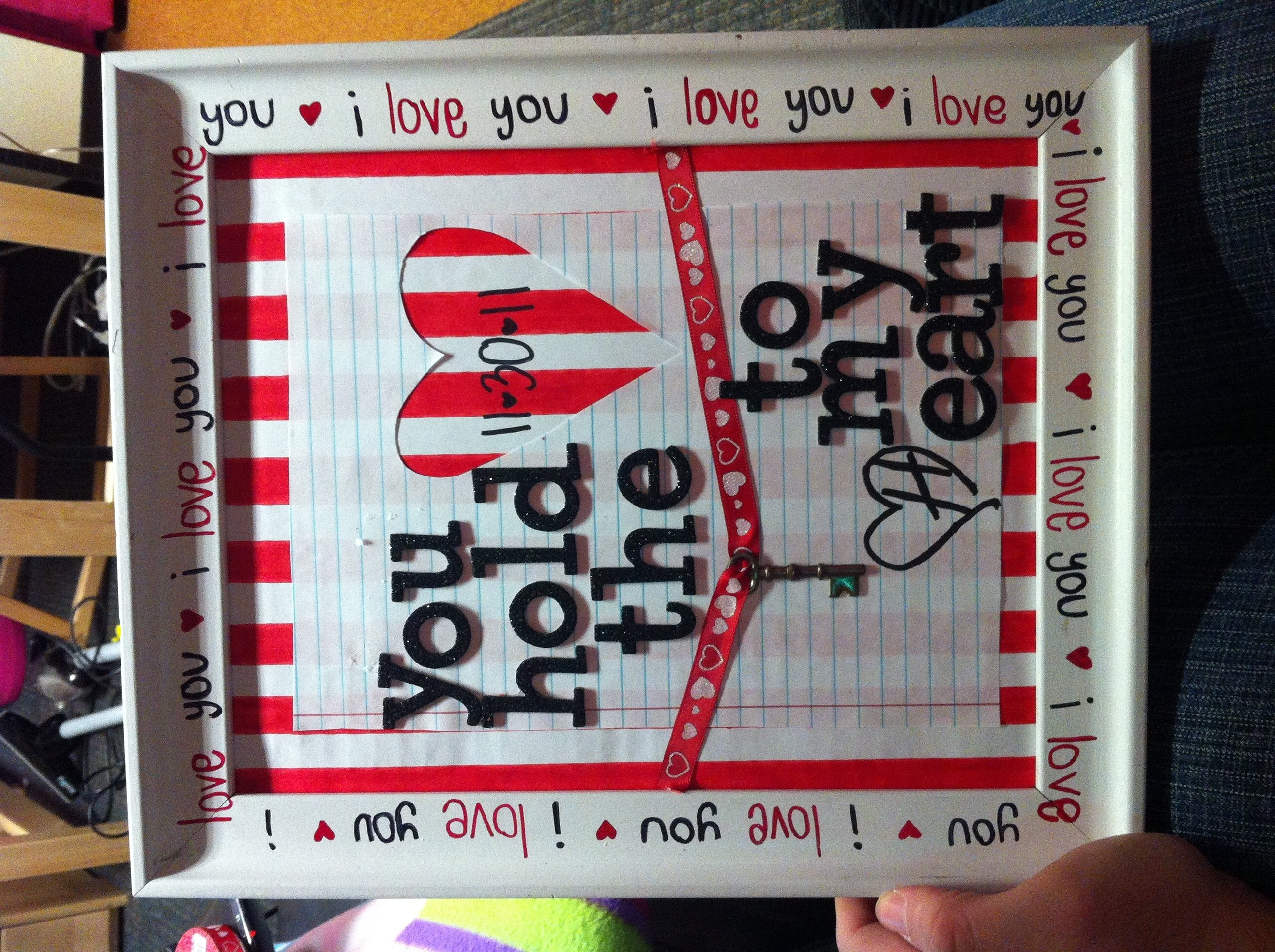 10 Fashionable Cute Ideas For Boyfriend On Valentines Day diy valentines day gift to bf me just me pinterest diy 1 2020