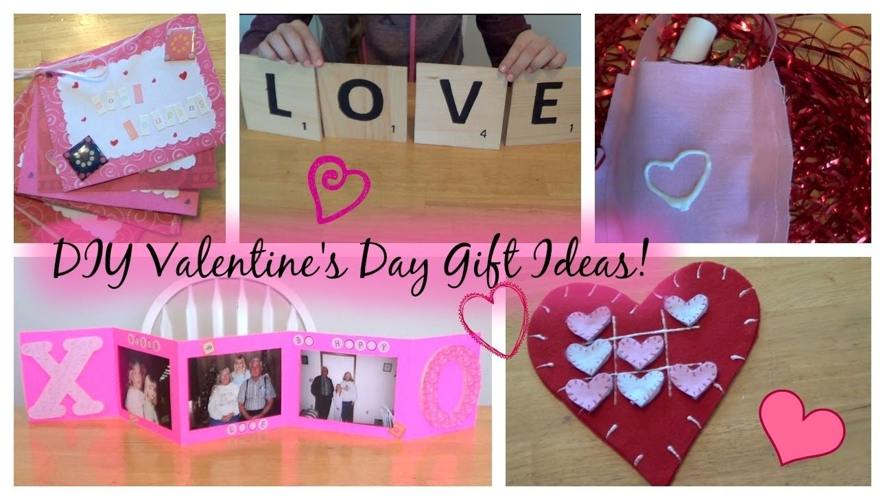 diy valentine's day gifts | for family, bestie, & more - youtube
