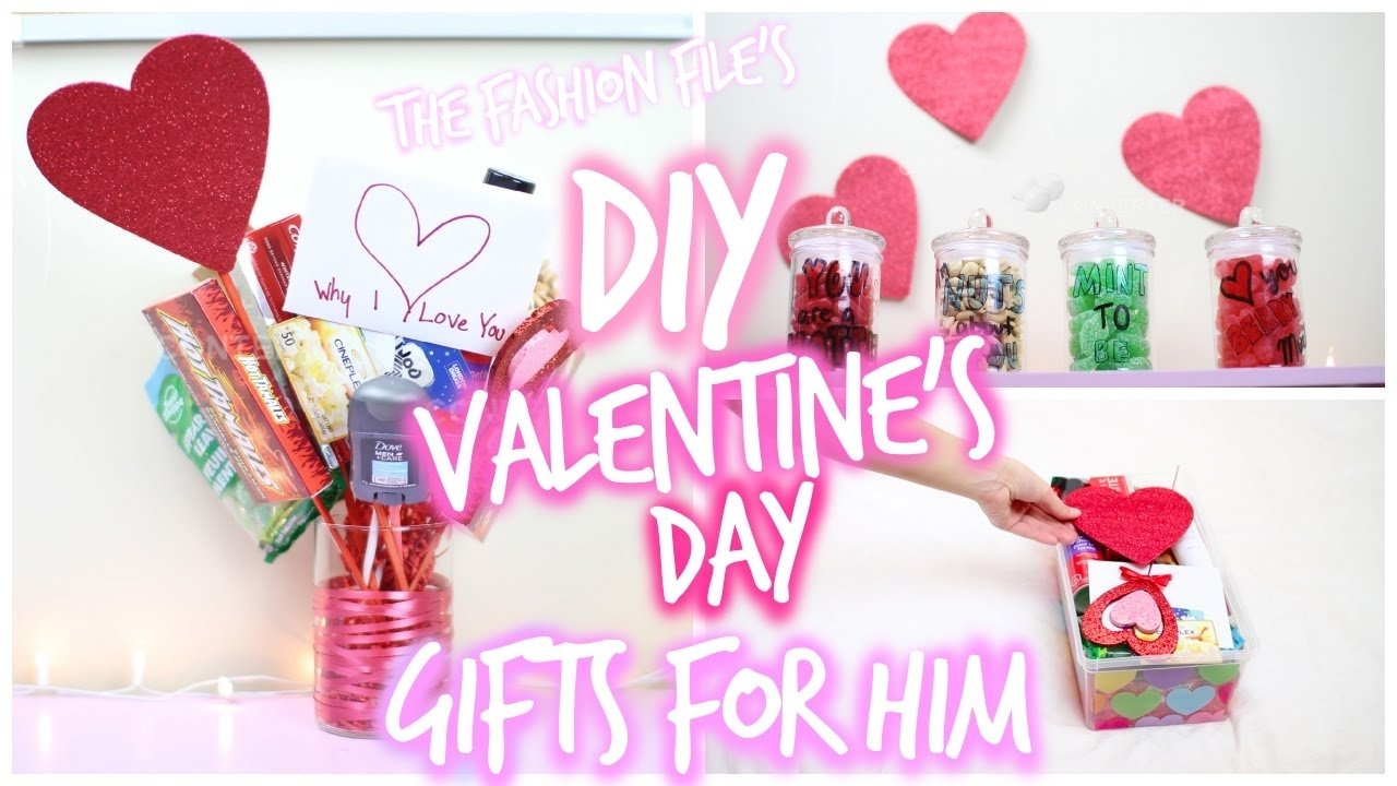 10 Stunning Homemade Valentines Day Ideas Him diy valentines day gifts for him youtube 2020