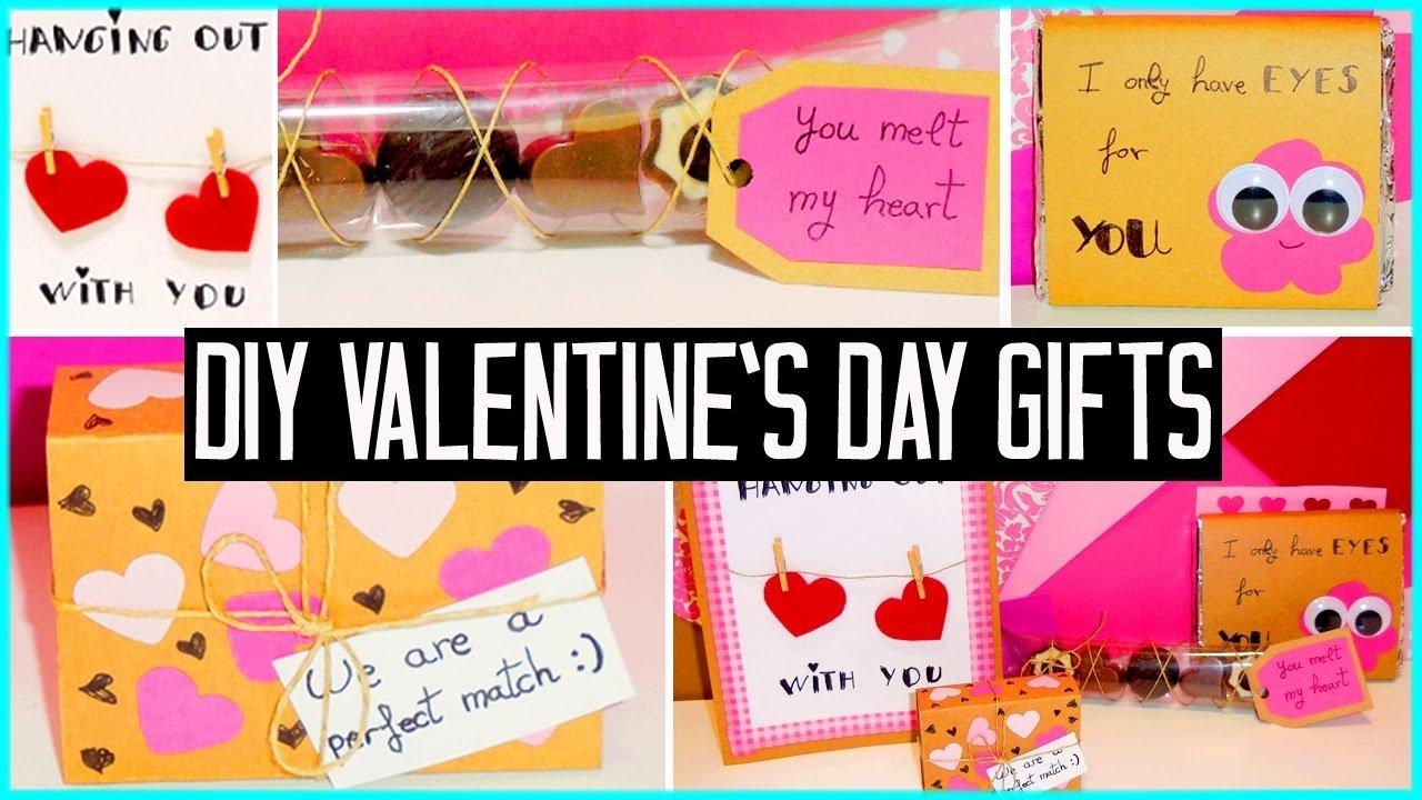 10 Nice Cute Valentines Day Gift Ideas diy valentines day little gift ideas for boyfriend girlfriend 21 2021