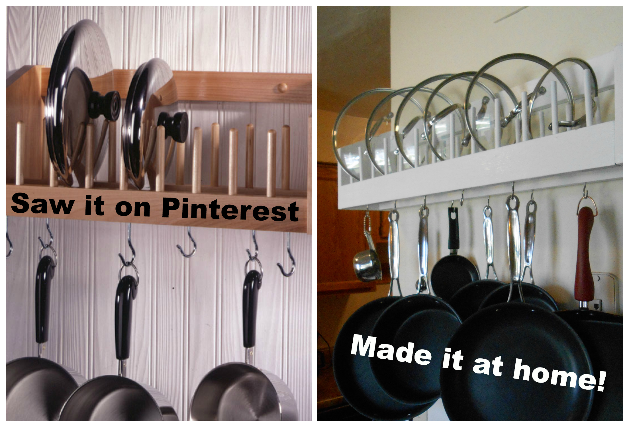 10 Spectacular Wall Mount Pot Rack Ideas diy wall pot rack wg15 roccommunity