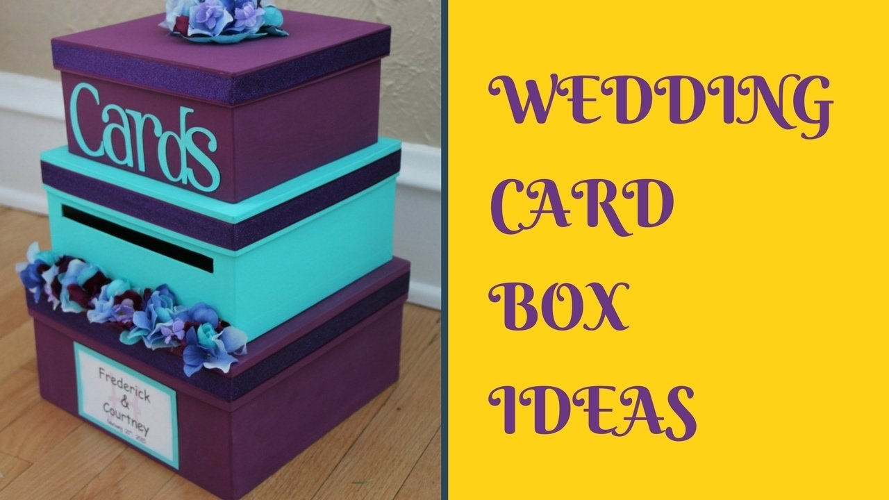 10 Unique Diy Wedding Card Box Ideas diy wedding card box ideas youtube