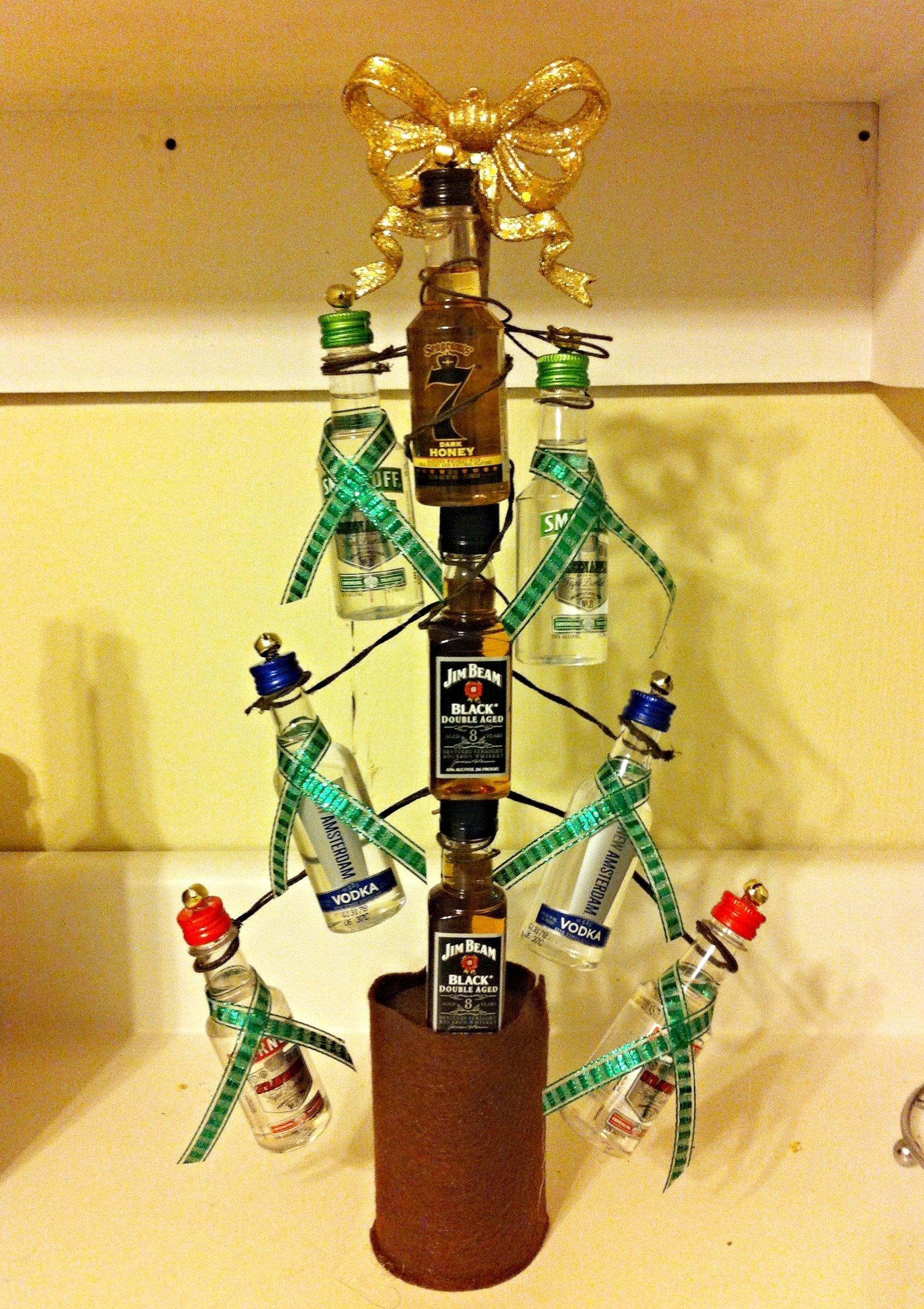 10 Stylish Ideas For Yankee Swap Gifts diy yankee swap gift 15 limit nip christmas tree holiday stuff 2021