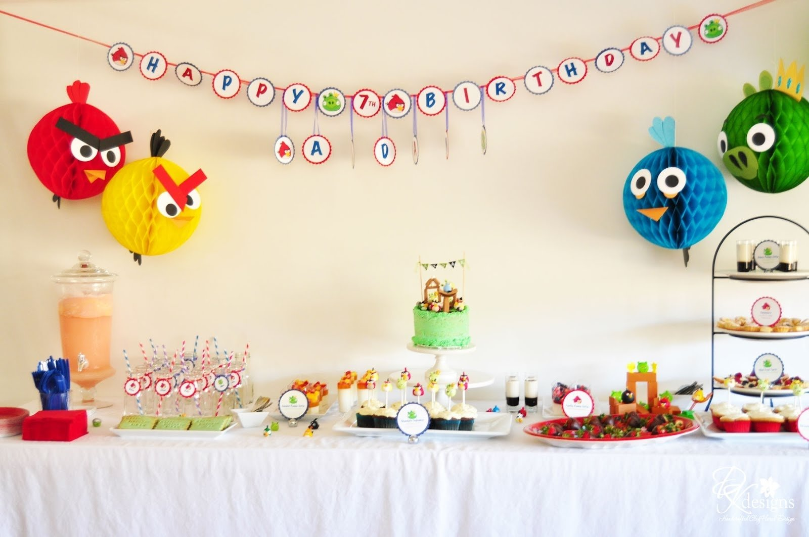 10 Famous Angry Bird Birthday Party Ideas dk designs my sons angry birds themed birthday party photos 2020