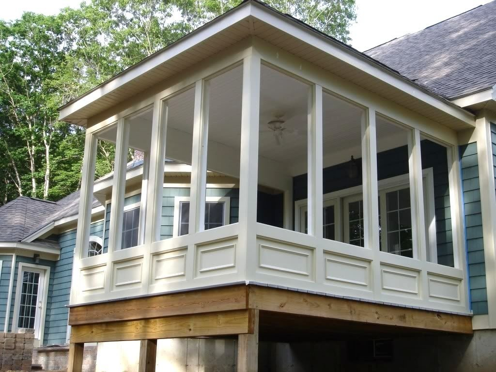 10 Trendy Ideas For Screened In Porches do it yourself screened in porch ideas the garden inspirations 2020