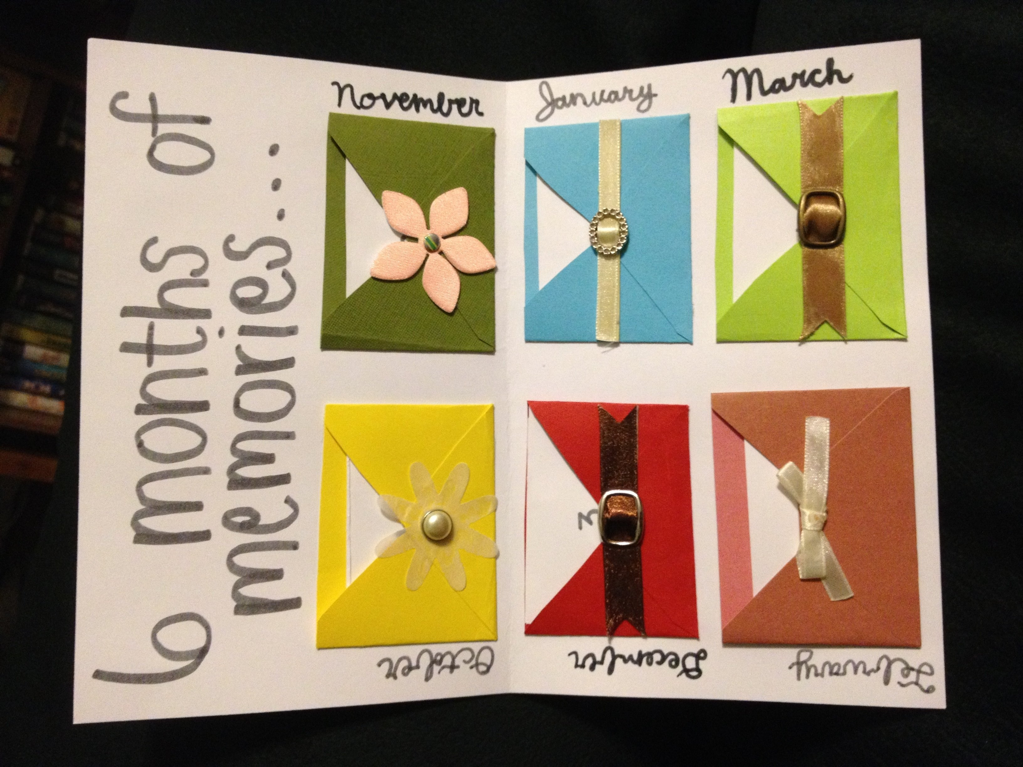 10 Most Recommended Cute 6 Month Anniversary Ideas do one for each month of the past year over the years youd have 9 2020
