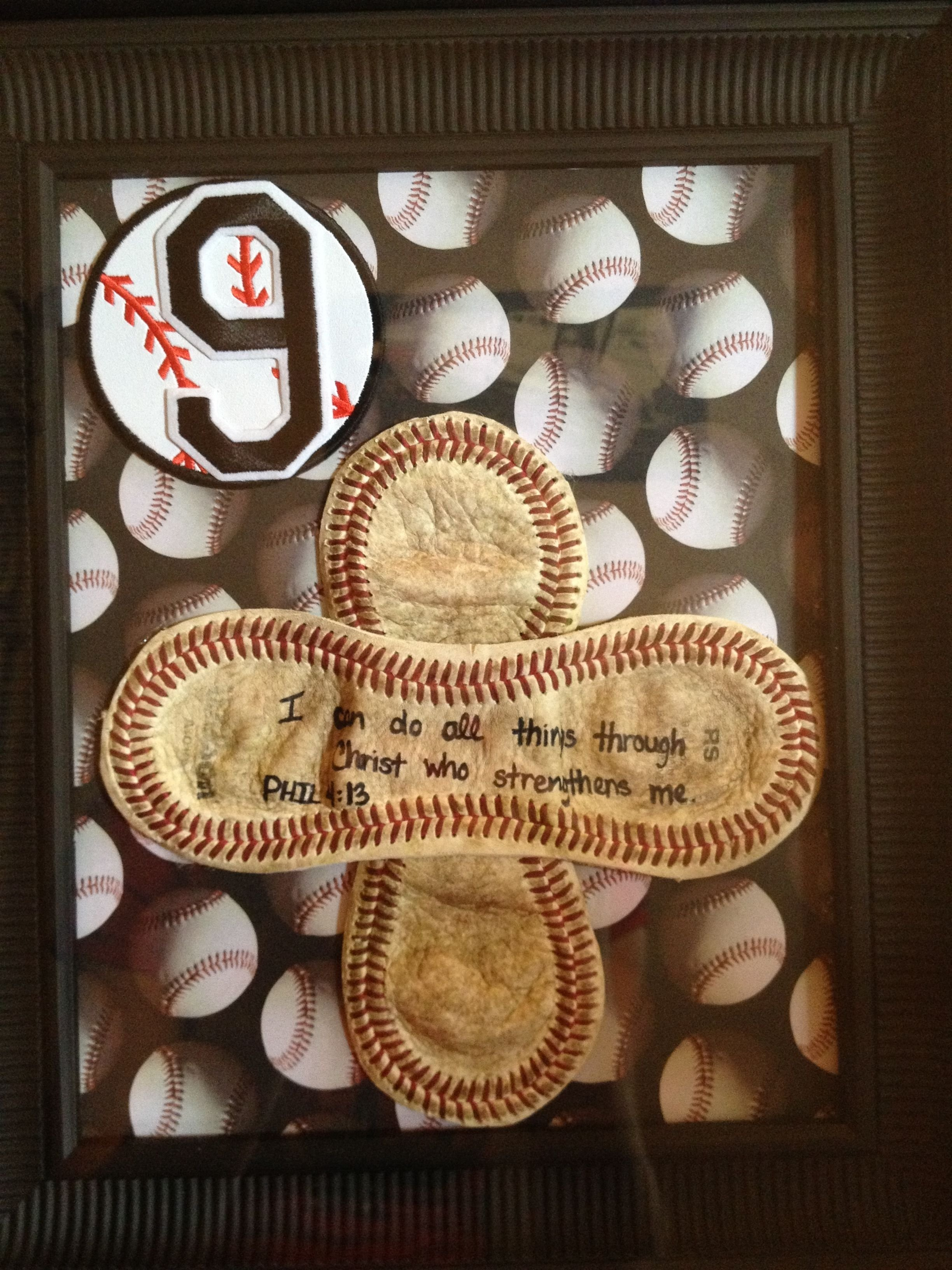 10 Great Cute Boyfriend Christmas Gift Ideas do with a softball and jersey in the background to remember teams 1