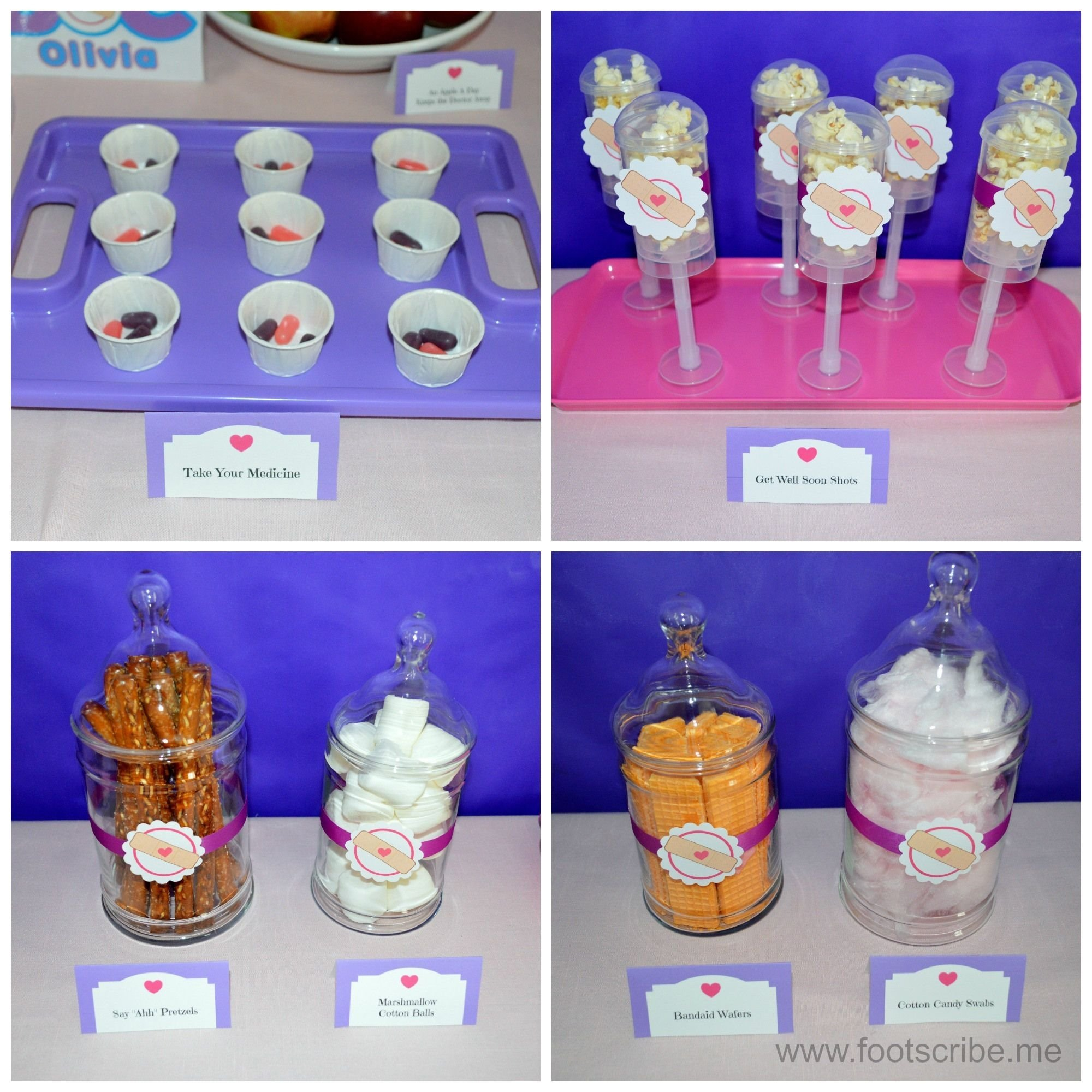 10 Spectacular Doc Mcstuffin Birthday Party Ideas doc mcstuffins birthday party food treats emma edmund