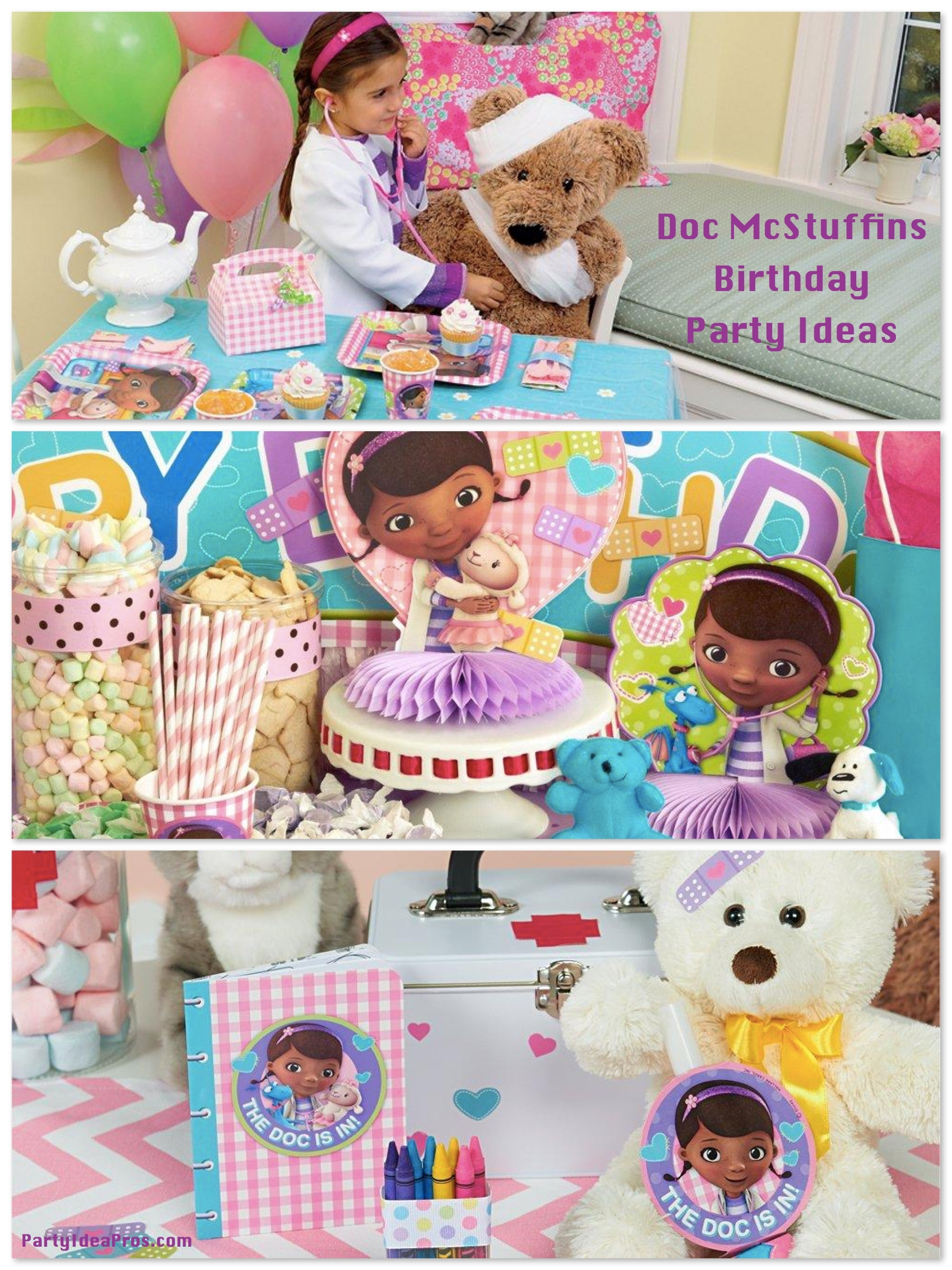 10 Spectacular Doc Mcstuffin Birthday Party Ideas %name