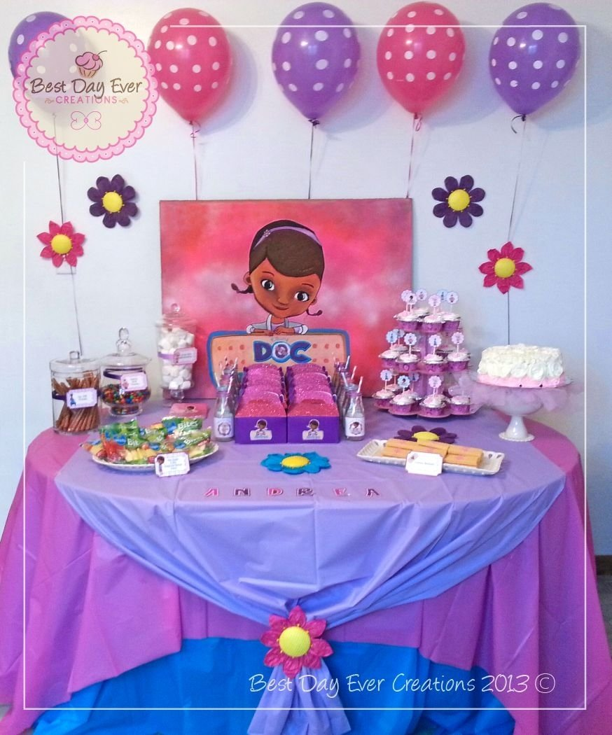 10 Lovely Doc Mcstuffins Birthday Party Ideas doc mcstuffins dessert table another mackenzie birthday perhaps 2020
