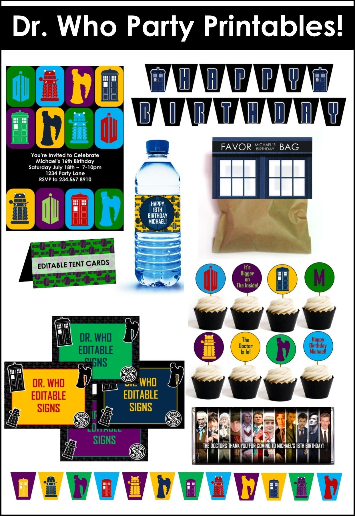 doctor who party game ideas