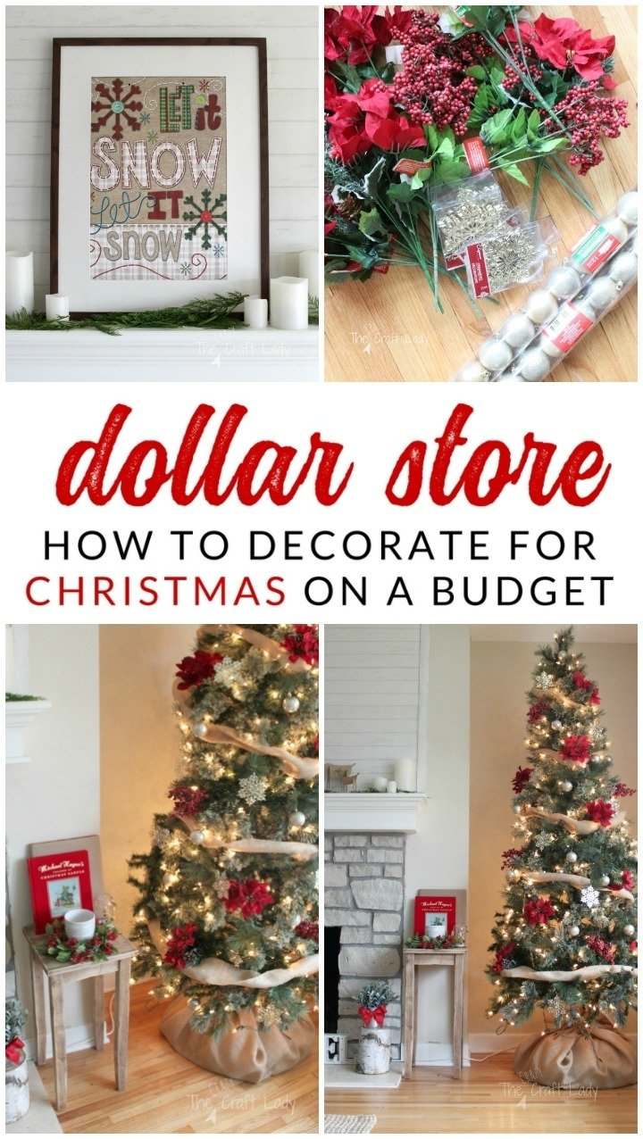10 Ideal Christmas Decorating Ideas On A Budget dollar store christmas decorations how to get the most bang for 2021