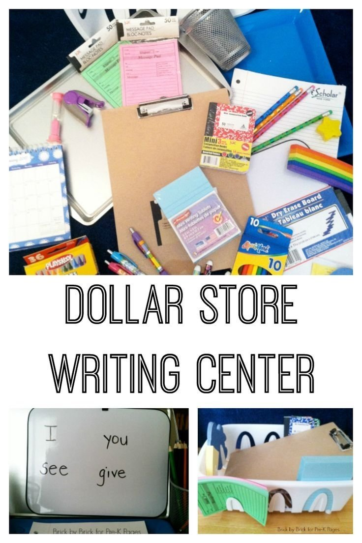 10 Best Writing Center Ideas For Preschool dollar store writing center writing centers center ideas and 2020