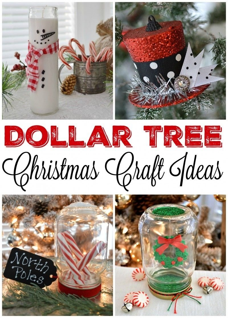 10 Unique Holiday Decorating Ideas On A Budget dollar tree budget christmas craft and decorating ideas globe jar 2020