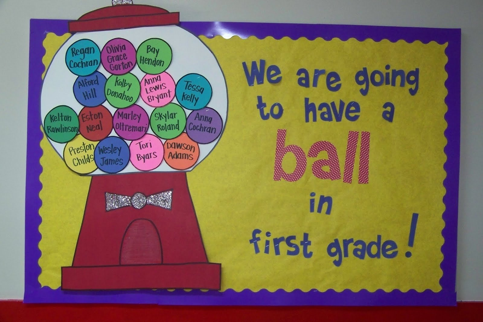 10 Elegant Bulletin Board Ideas For Back To School doodle bugs teaching first grade rocks bubble gum back to school 1 2021