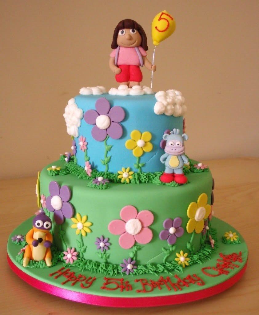 10 Awesome Dora The Explorer Cake Ideas dora birthday cakes dora cakes decoration ideas sugar dedans 2021