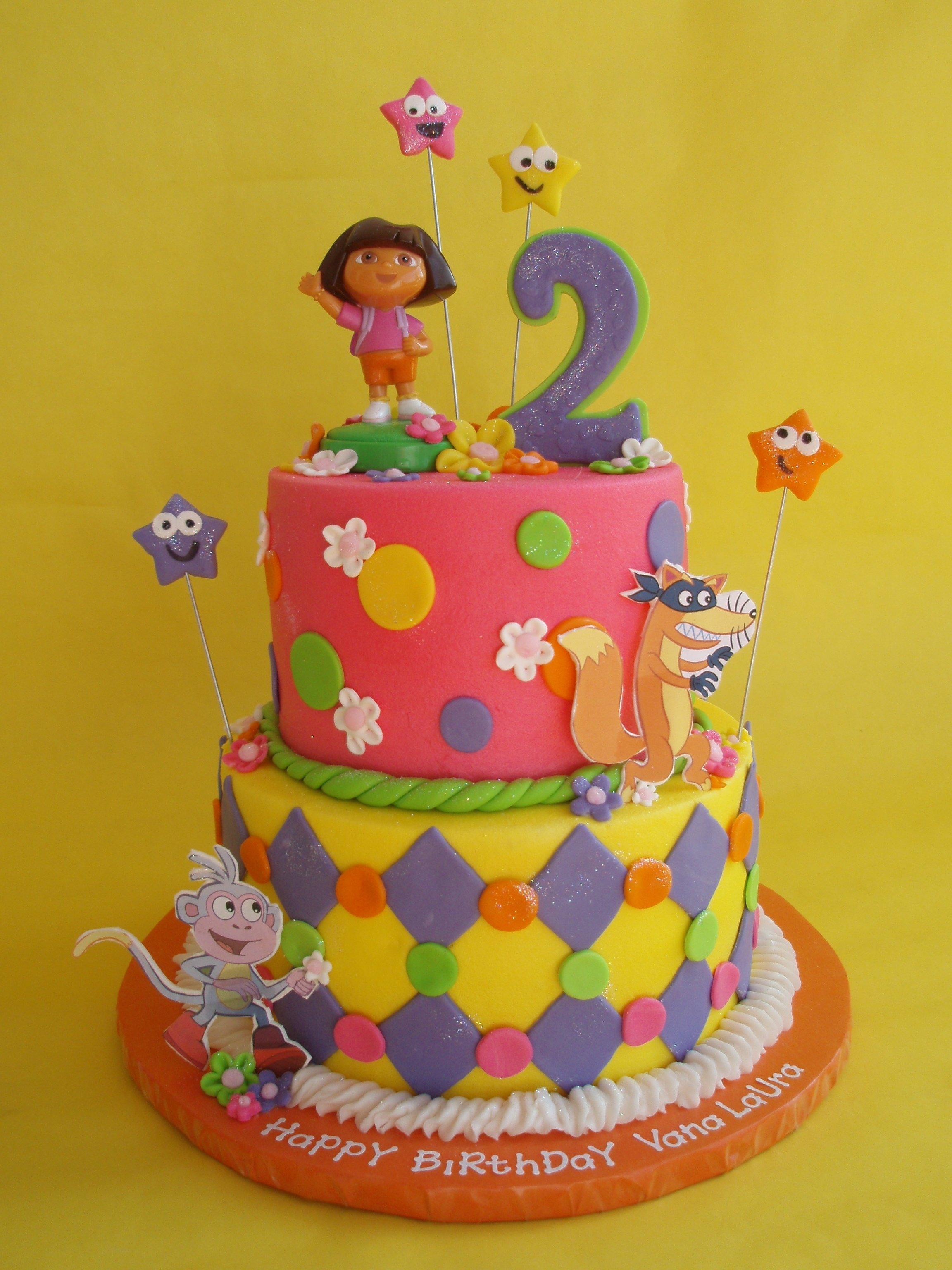 10 Awesome Dora The Explorer Cake Ideas dora cakes decoration ideas little birthday cakes 2021