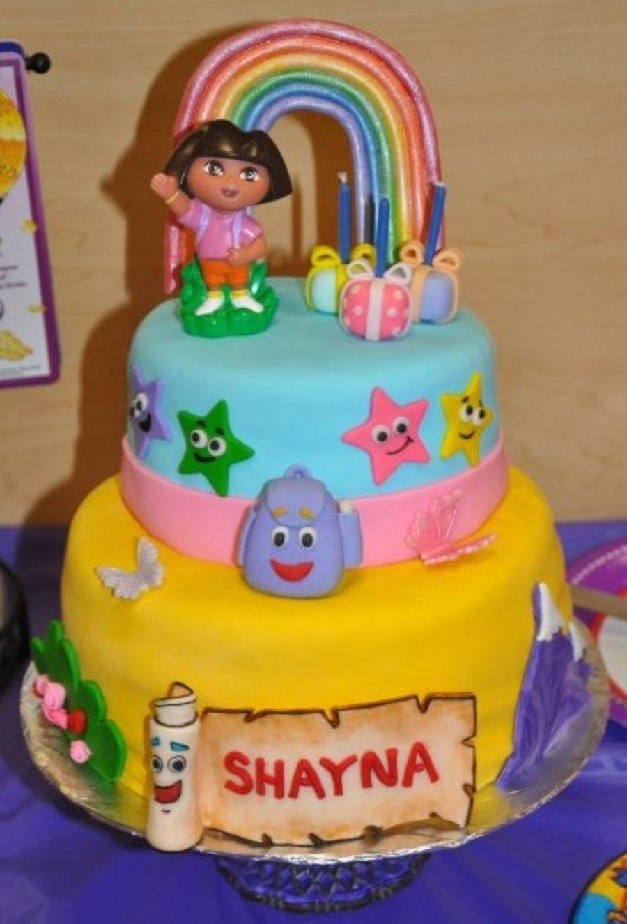 10 Awesome Dora The Explorer Cake Ideas dora the explorer birthday cake cakecentral 2021