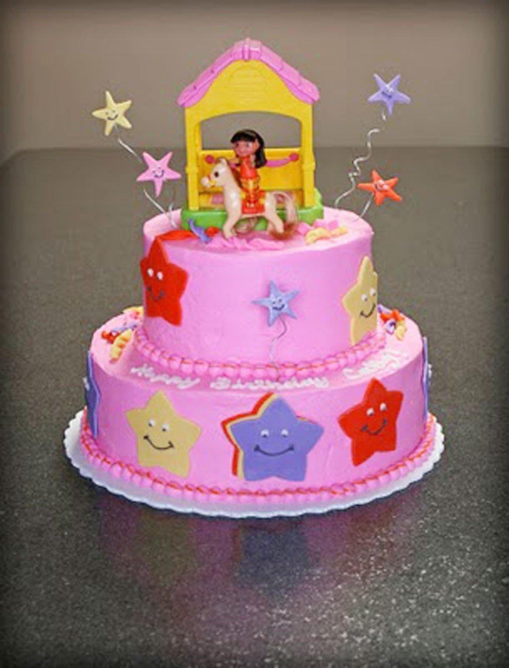 10 Awesome Dora The Explorer Cake Ideas dora the explorer birthday cake design birthday cake cake ideas 2021
