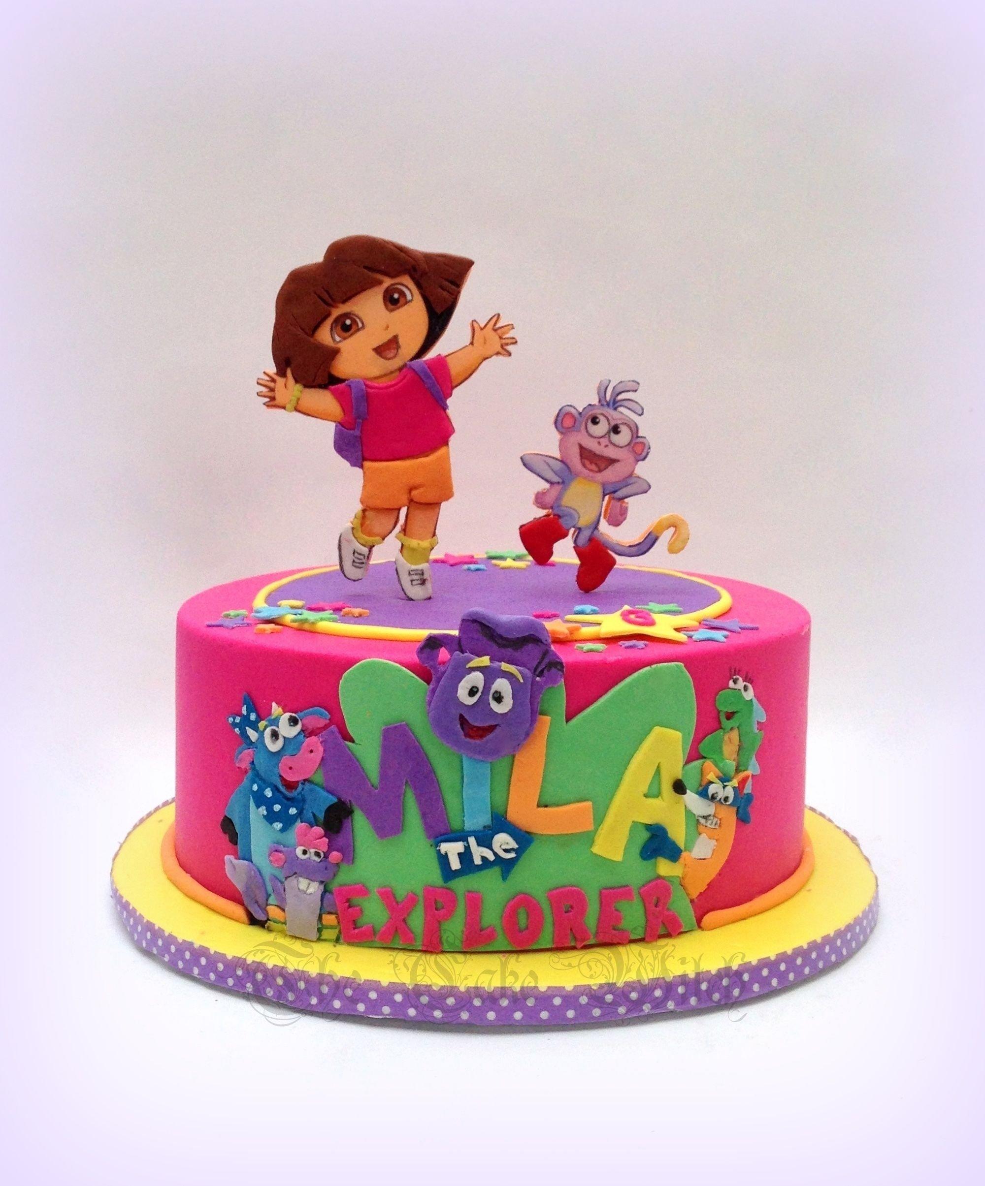10 Awesome Dora The Explorer Cake Ideas dora the explorer birthday cake pinteres 2021