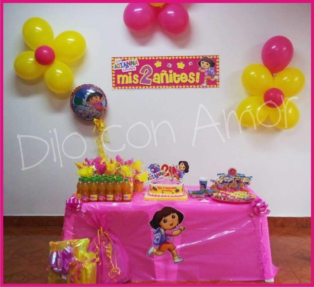 10 Lovable Dora The Explorer Party Ideas dora the explorer birthday party ideas photo 10 of 25 catch my party 1