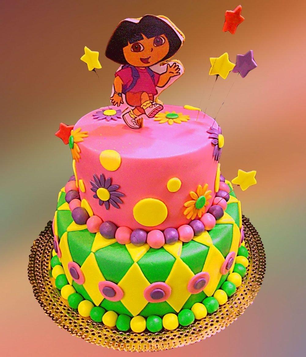 10 Awesome Dora The Explorer Cake Ideas dora the explorer cake idea for as birthday sed birthday 2021