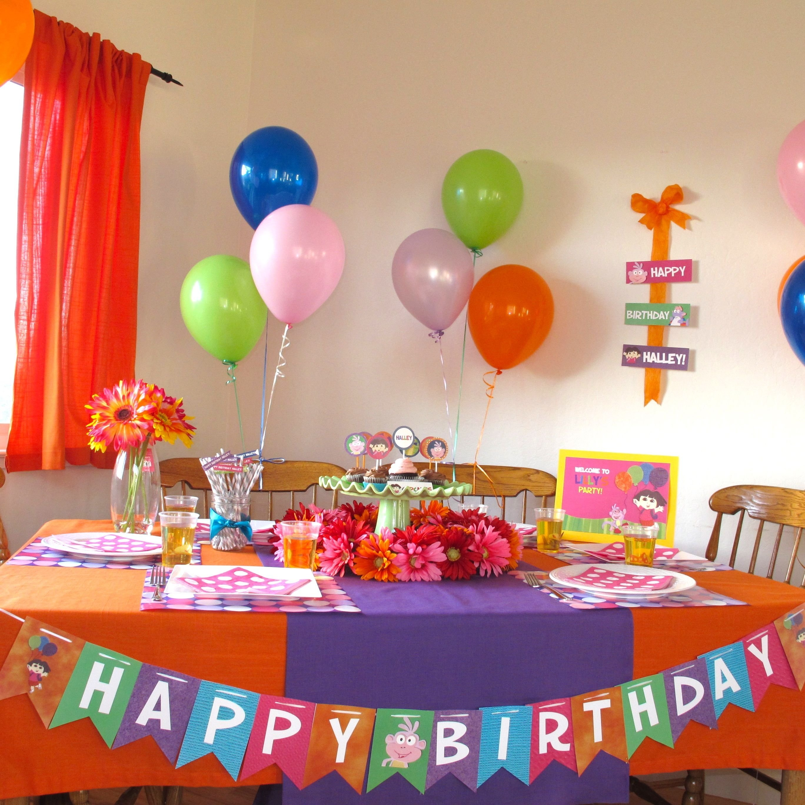 dora the explorer party pics | banners, birthdays and birthday party