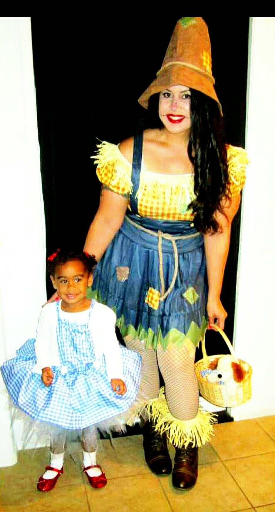 10 Most Popular Mommy Daughter Halloween Costume Ideas dorothy and scarecrow mommy daughter costumes mommy n me 2020