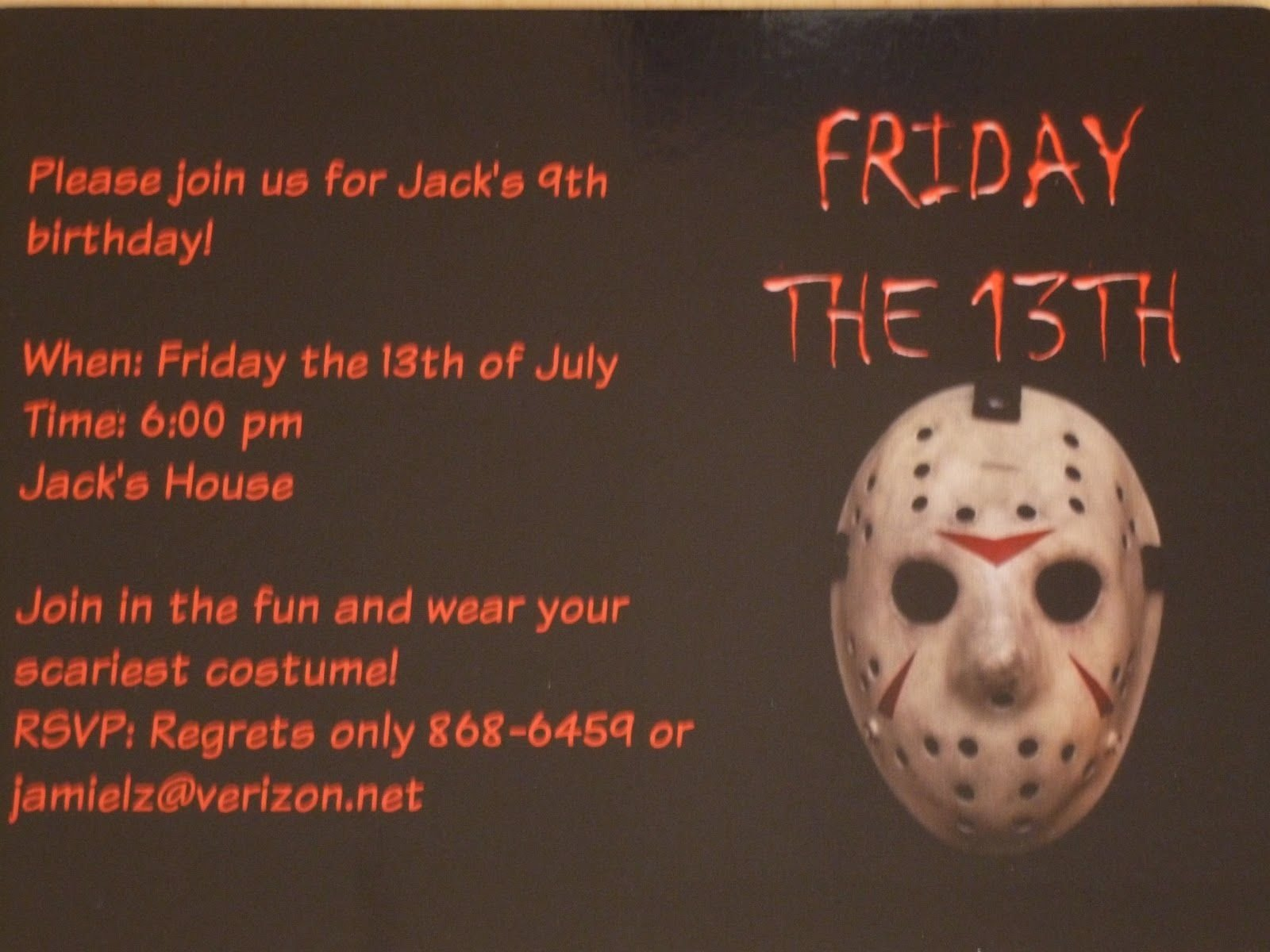 10 Unique Friday The 13Th Party Ideas download 13th birthday party invitation ideas free printable 2020