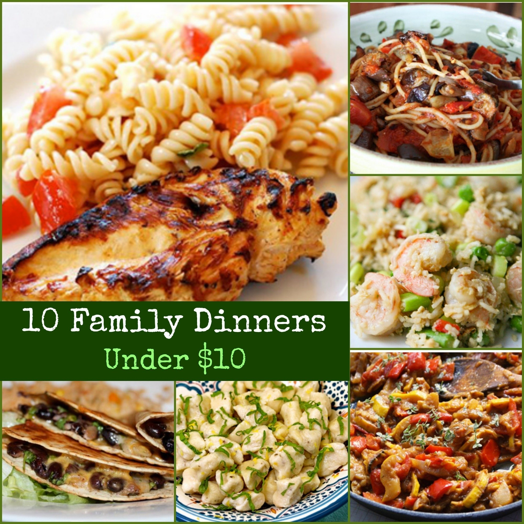 10 Fabulous Dinner Ideas On A Budget download cheap easy quick dinner recipes food photos 1 2021