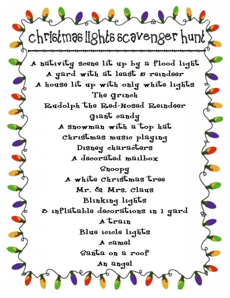 10 Fashionable Christmas Scavenger Hunt Ideas For Adults download christmas party scavenger hunt ideas e bit 2020
