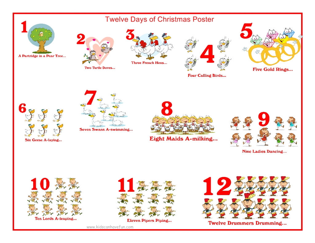 10 Attractive 12 Days Of Christmas Ideas download gifts for the 12 days of christmas moviepulse 2020