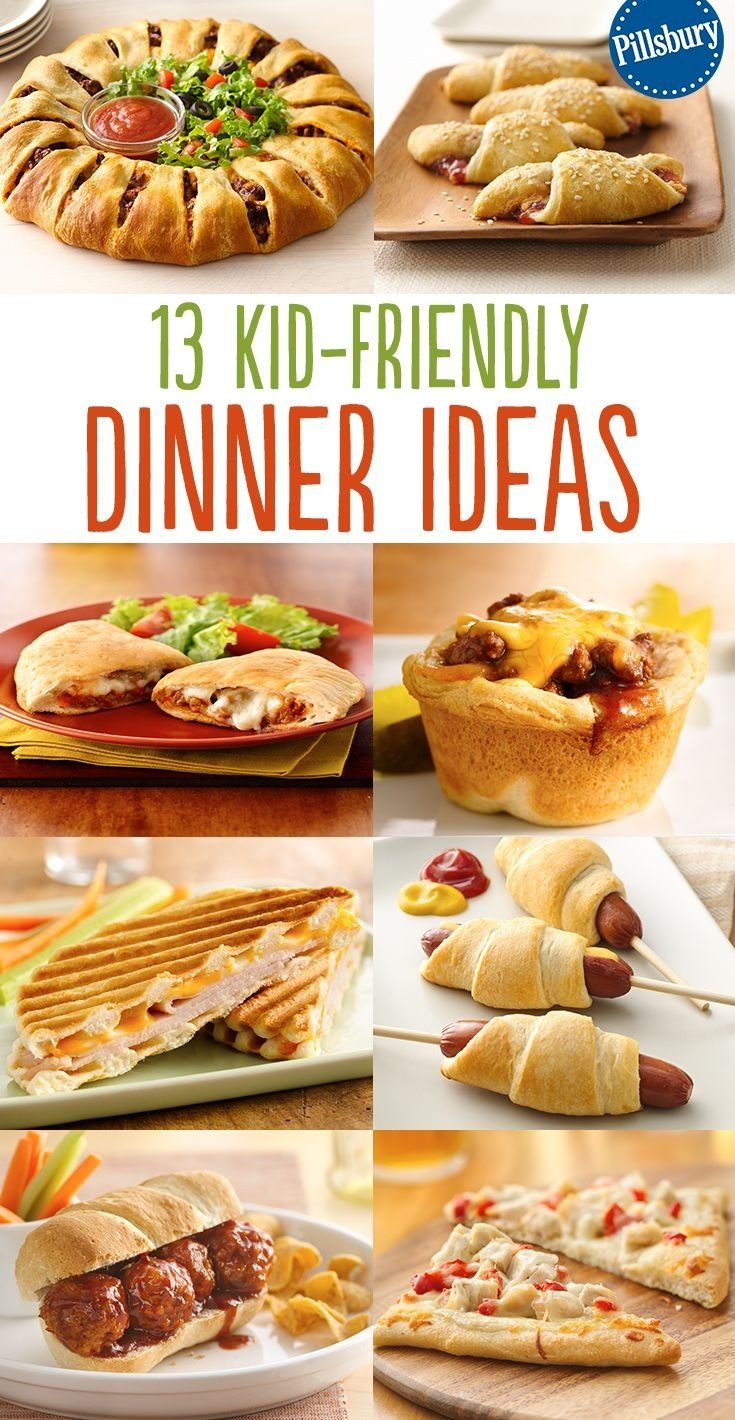 10 Elegant Quick Dinner Ideas For Kids Download And Easy Kid Friendly Recipes Food