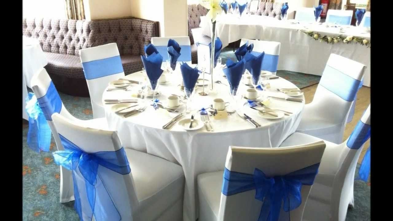 10 Unique Blue And Silver Wedding Ideas download royal blue wedding table decorations corners 50th 2020