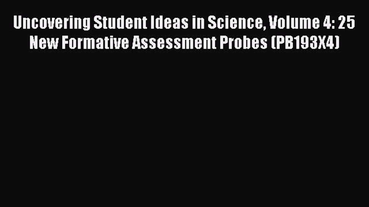 10 Awesome Uncovering Student Ideas In Science download uncovering student ideas in science volume 4 25 new 2020
