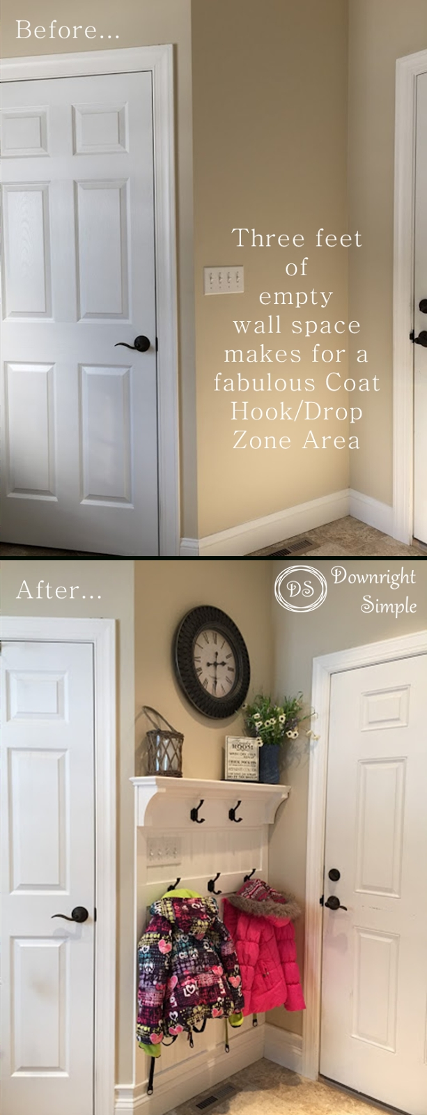 10 Most Popular Entryway Ideas For Small Spaces downright simple mudroom entryway maximizing a small space my 2020