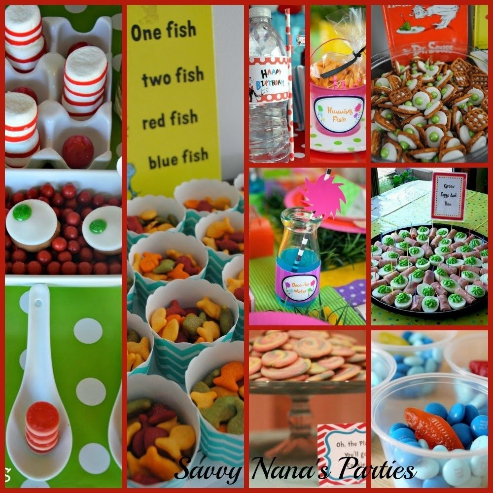 10 Stylish Ideas For Dr. Seuss Day dr seuss birthday party ideas free printables savvy nana 2020